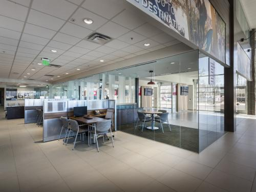 Beaver Toyota Interior Glass Negotiations Tables