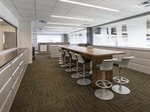 Beaver Toyota Interior board room with stool chairs