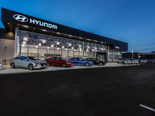 Wilkins Hyundai Exterior Left Side