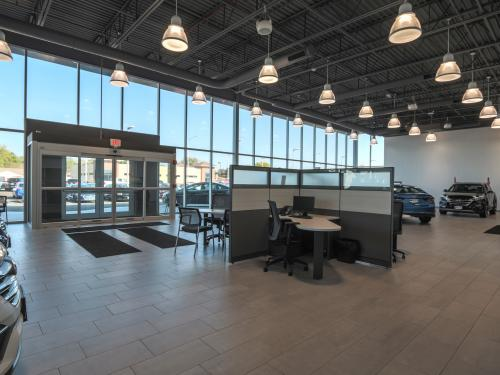 Wilkins Hyundai Interior showroom