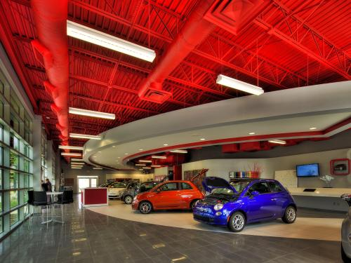 Orlando Fiat interior showroom 2