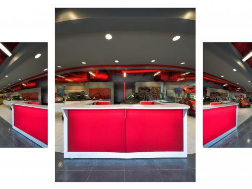 Orlando Fiat front showroom 3 part pic