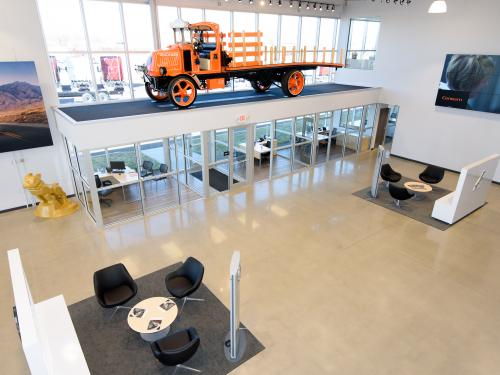General Truck main showroom right