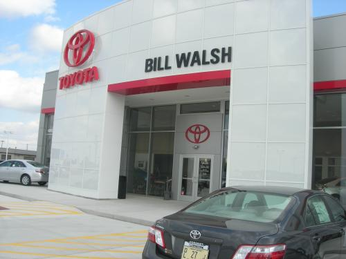 Bill Walsh Toyota front close