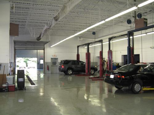 Beck Toyota service lifts