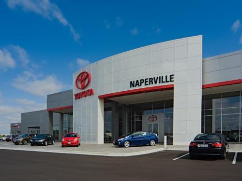 Naperville Toyota front right