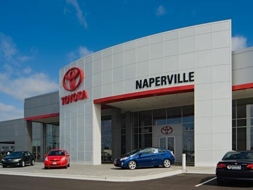 Naperville Toyota front