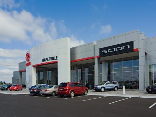 Naperville Toyota Front full