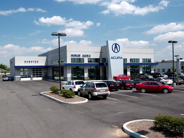 Hubler Acura Exterior daylight left side