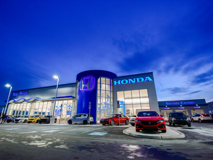 Ray Price Honda Gen 3 Image Haworth Building Night