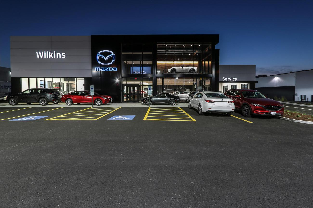 Wilkins Mazda Front Exterior outside