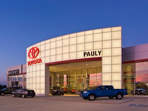Infiniti Dealership Kansas City >> Pauly Toyota | Custom Facilities