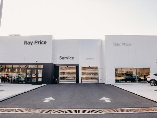 Ray Price Mazda exterior service drive head on