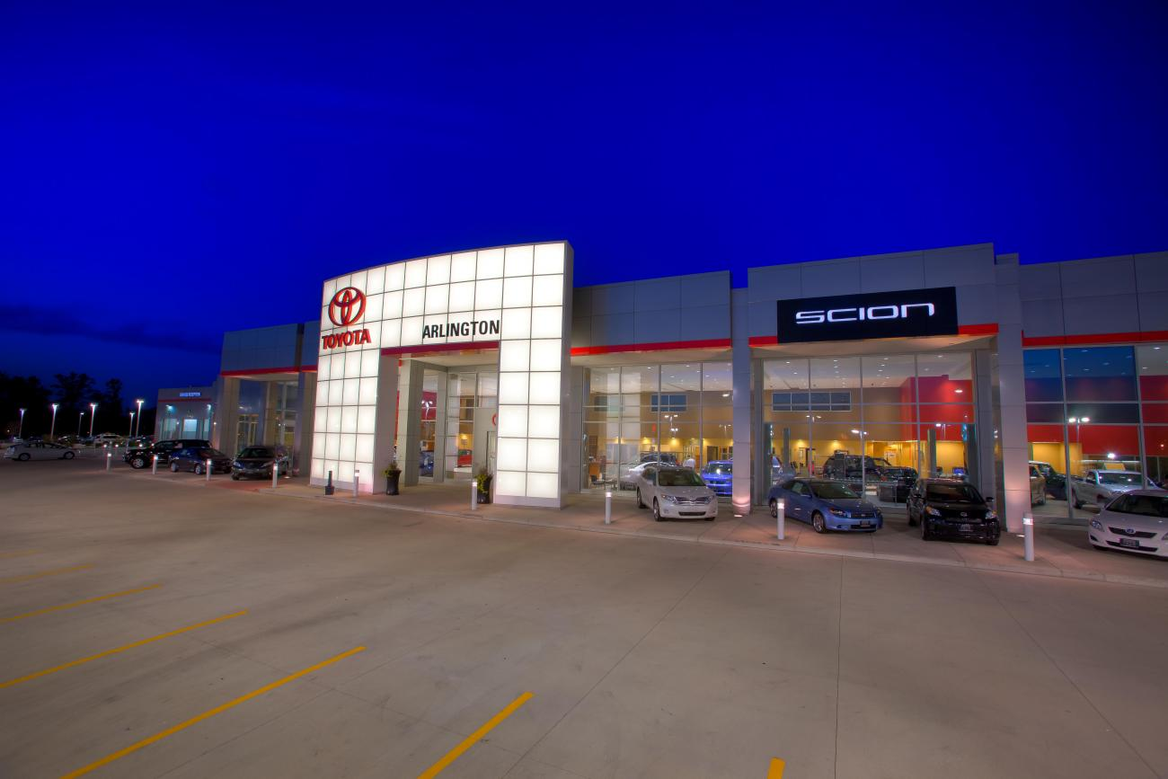 Arlington Toyota Custom Facilities