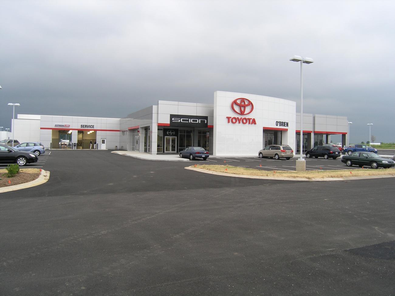 O Brien Toyota >> O Brien Toyota Custom Facilities
