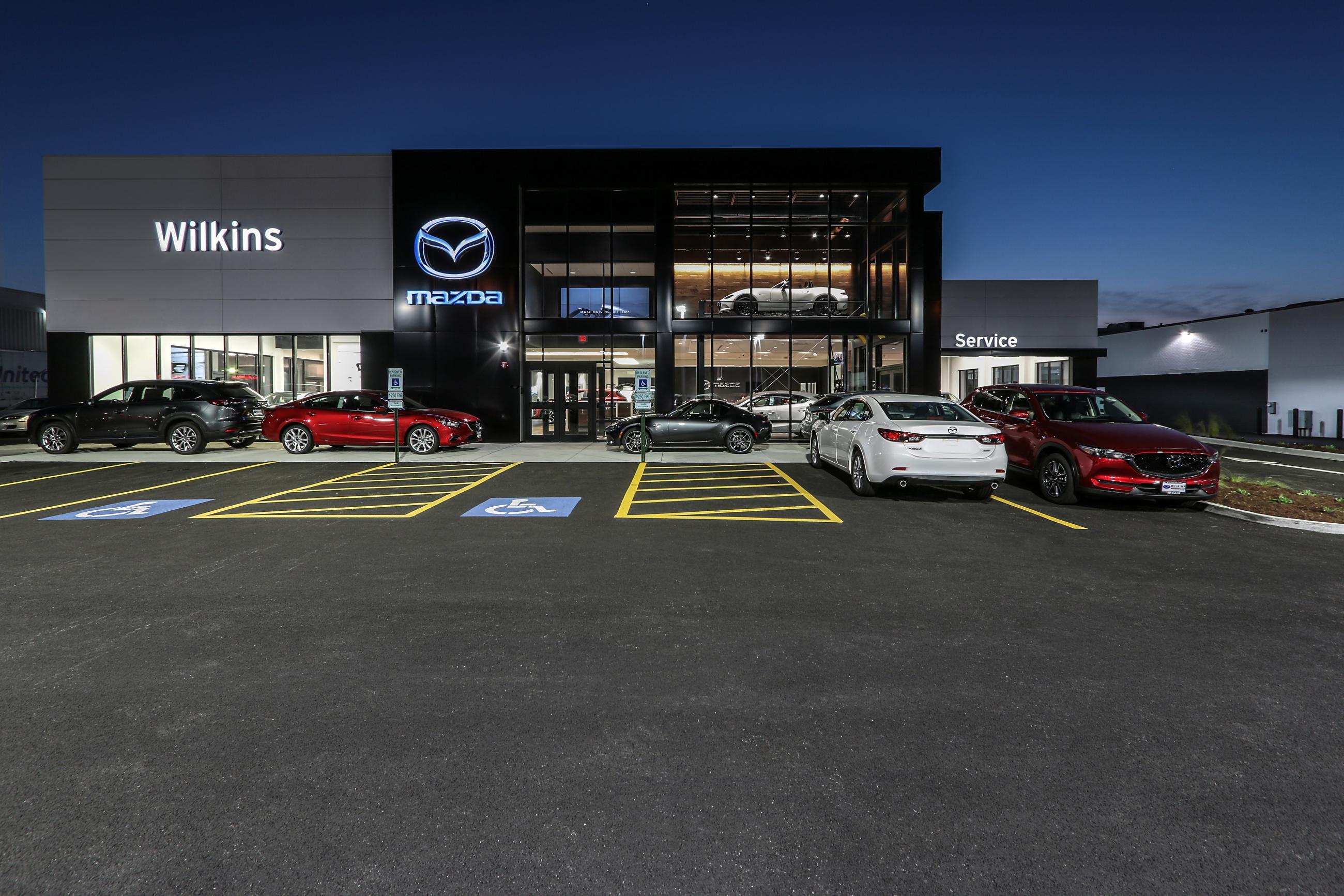Toyota Iowa City >> Wilkins Mazda | Custom Facilities