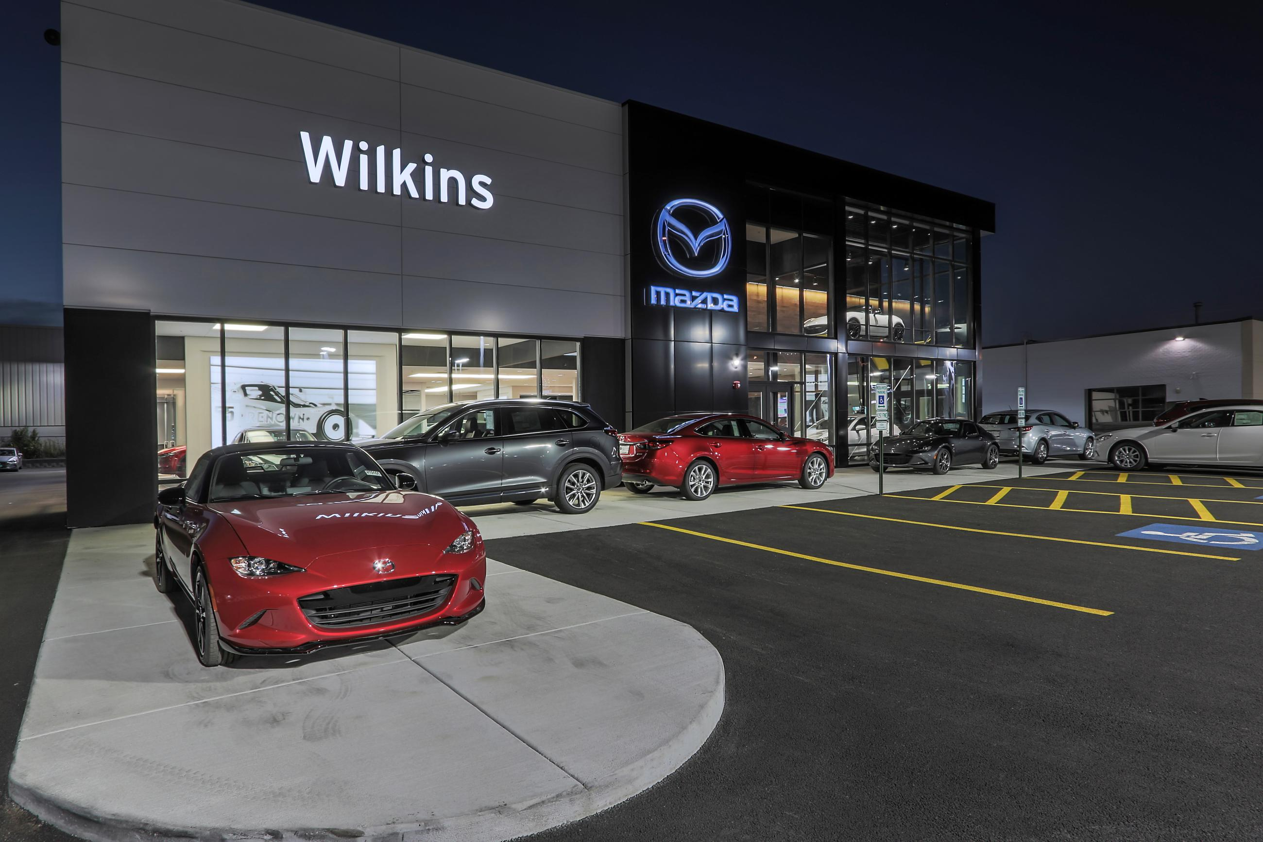 Wilkins Mazda Custom Facilities