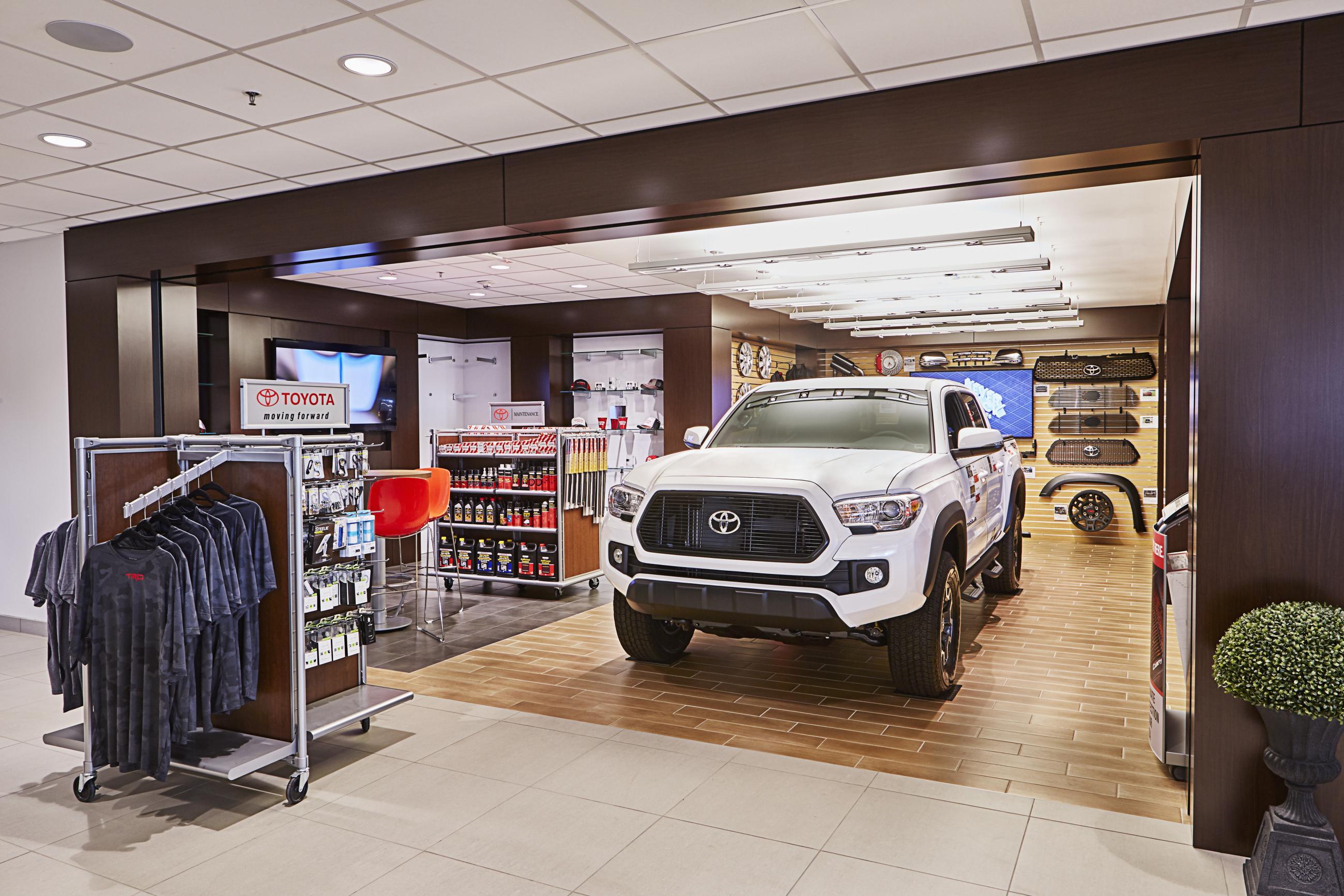 Beaver Toyota Custom Facilities