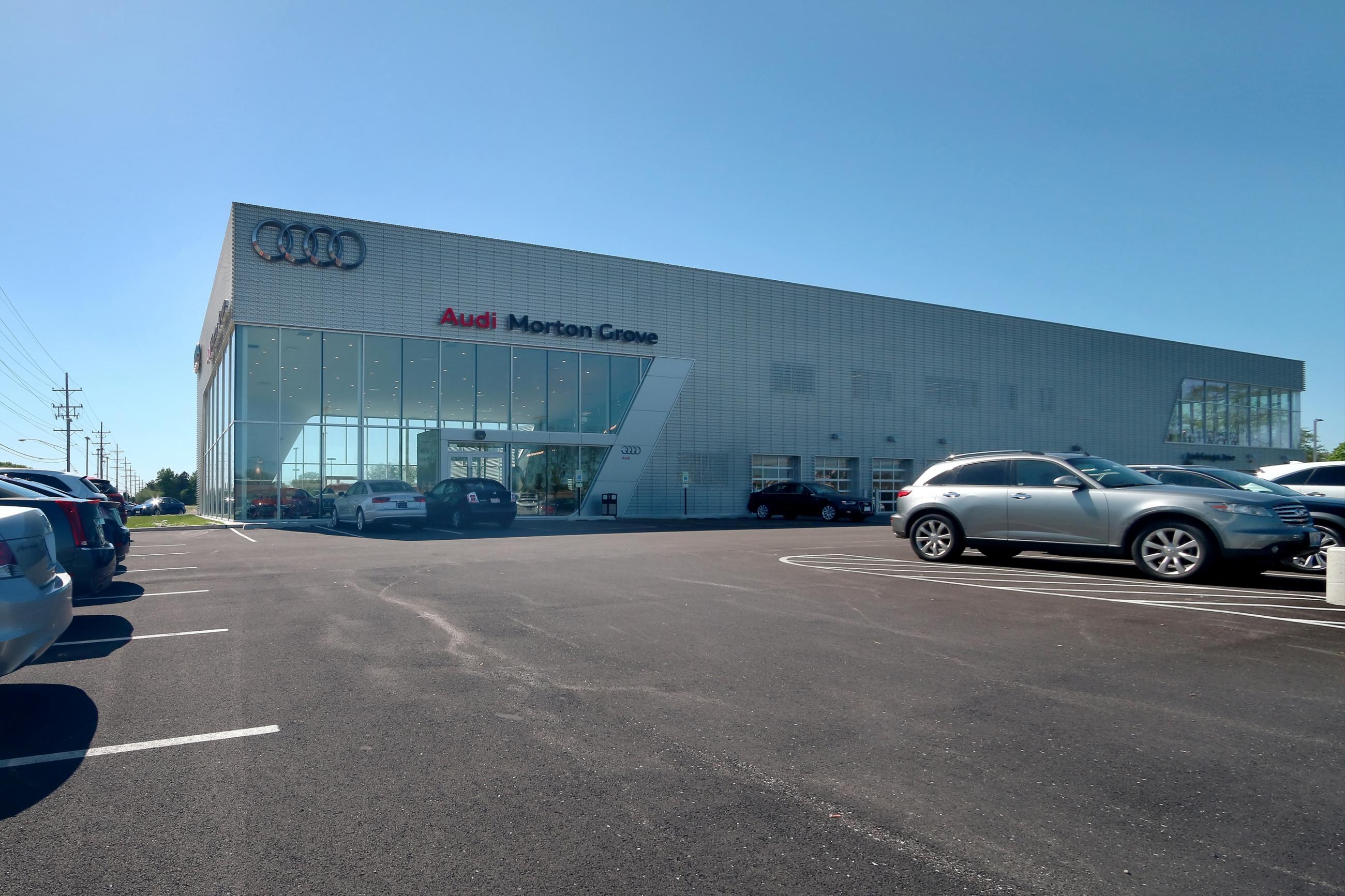 Morton Grove Audi Custom Facilities