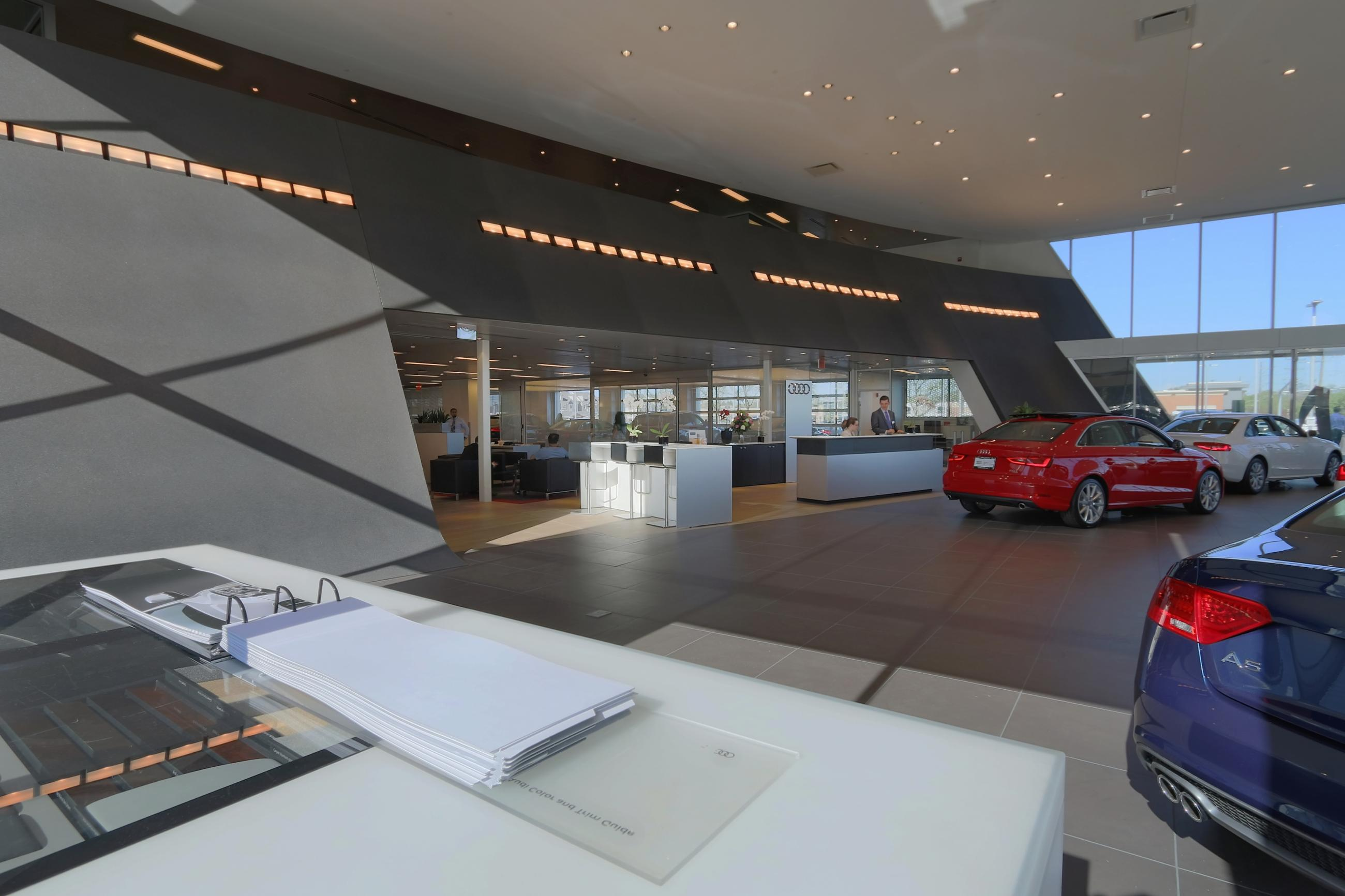 Morton Grove Audi Custom Facilities