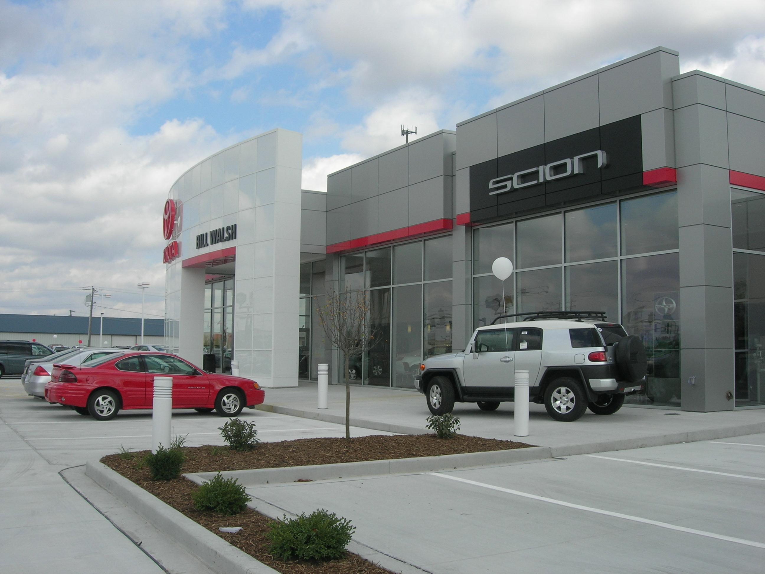 Bill Walsh Toyota Custom Facilities