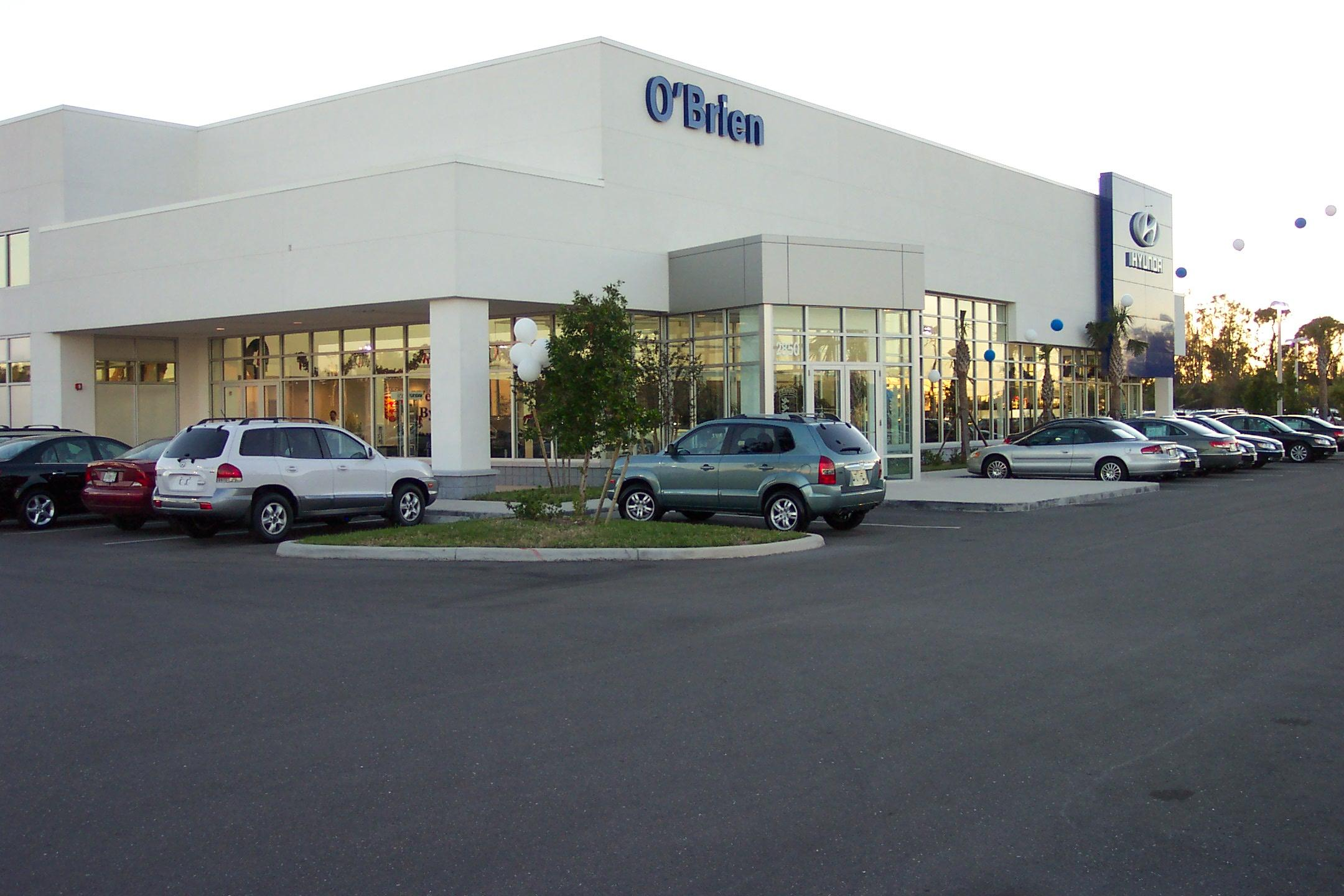 O Brien Hyundai >> O Brien Hyundai Custom Facilities