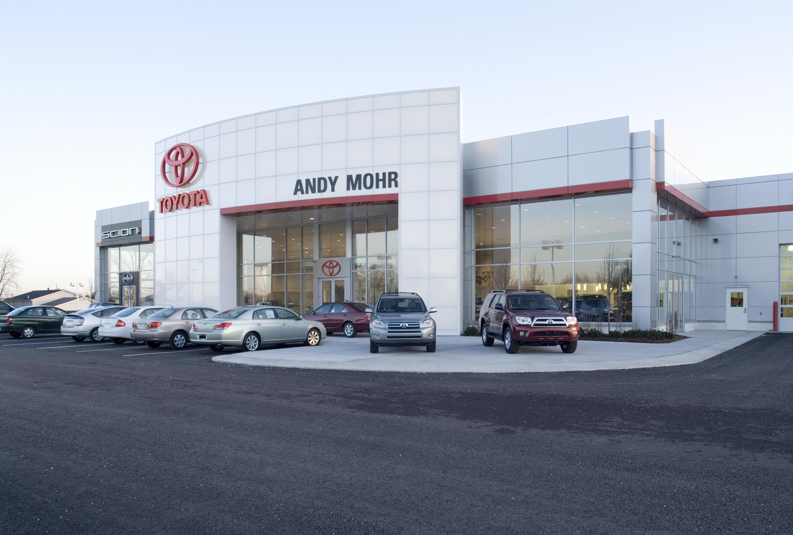 Andy Mohr Toyota Custom Facilities